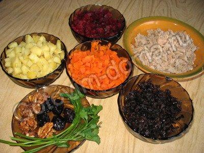 рецепты салата с говядиной и перцем #13