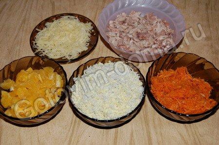 рецепт салата новогодний с курицей #15