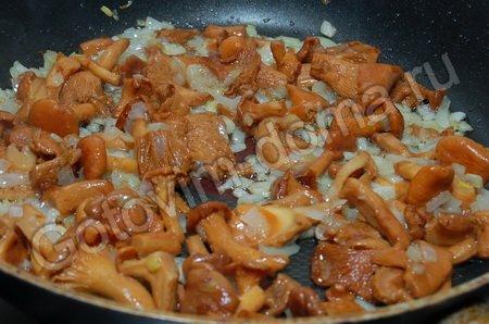 рецепт голени курицы в духовке с грибами